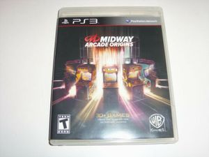 Ps3 Midway Arcade Origins(30 plus games inside) for Sale in Yarmouth, MA