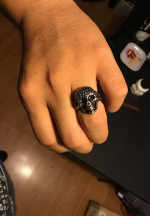 Skull ring stainless steel size 9 1/2 for Sale in Torrance, CA