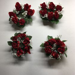 """3"""" Rose Candle Rings for Sale in Clarksville,  TN"""