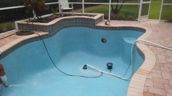 Pool rough