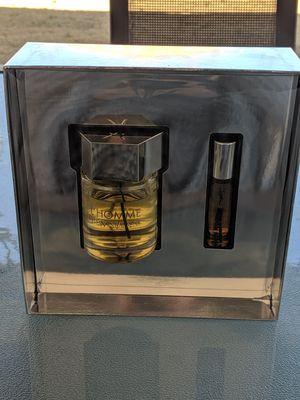 Yves Saint Laurent L'HOMME Eau de Toilette Designer Cologne perfume fragrance Set 3.3 FL oz for Sale in Peoria, AZ