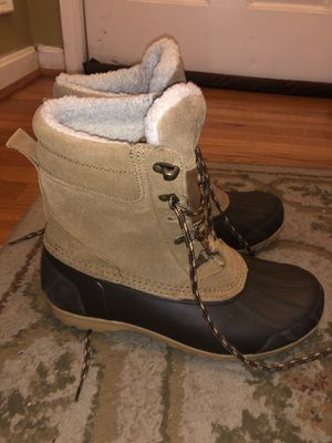 Men's winter boots (lands End) size 10 for Sale in Germantown, MD