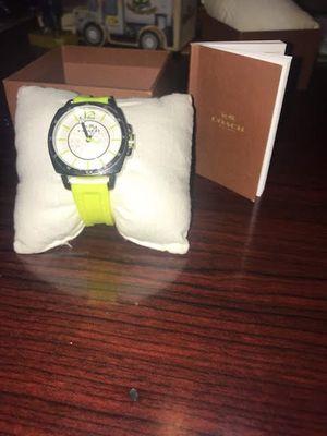 Coach Watch Neon for Sale in Phoenix, AZ