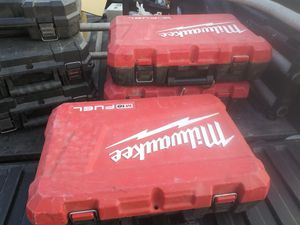 Milwaukee m18 fuel hard case little dirty but FREE for Sale in Los Angeles, CA