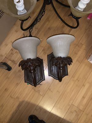 Sconces with matching chandelier for Sale in Las Vegas, NV