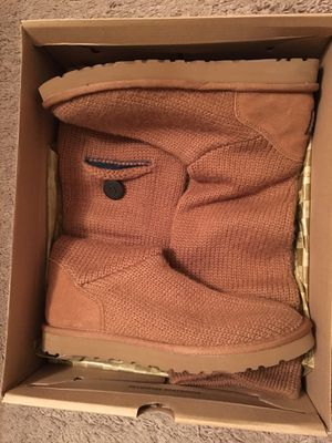 Brown Ugg Knit Boots for Sale in Washington, DC