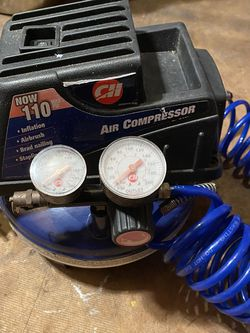 Air compressor used maybe three times it still looks like new works great for Sale in Port Charlotte,  FL