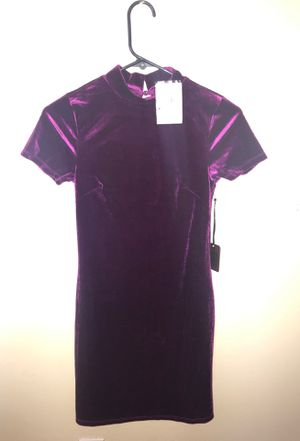 Forever 21 purple dress size small for Sale in Vallejo, CA