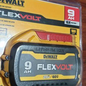 Dewalt Flexvolt 60v 9.0 AH Battery New for Sale in Laurel, MD