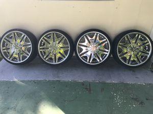 22 in wheels for Sale in Fort Lauderdale, FL