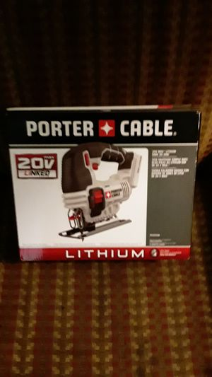PORTER CABLE 20v Cordless Jigsaw for Sale in Bakersfield, CA