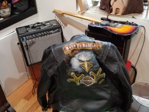 Genuine leather Harley Davidson jacket for Sale in Watertown, MA