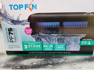 Top fin pf75 aquarium filter for Sale in Monrovia, MD