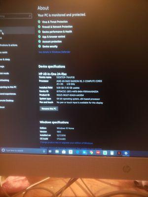 HP All in One desktop for Sale in Washington, PA