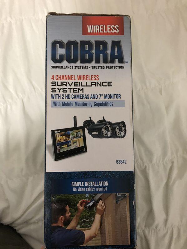 Cobra surveillance camera