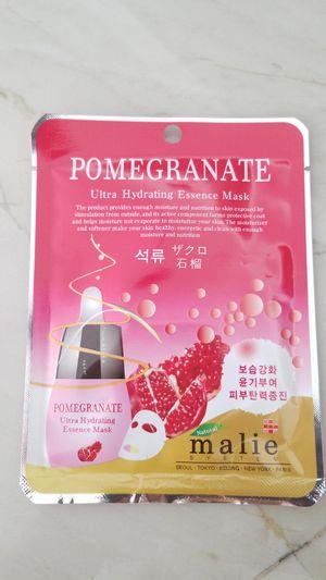 Pomegranate korean hydrating mask for Sale in Miramar, FL