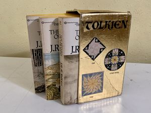 The Lord of the Rings: By: J.R.R. Tolkien - Trilogy Set 1976 for Sale in Santa Fe Springs, CA