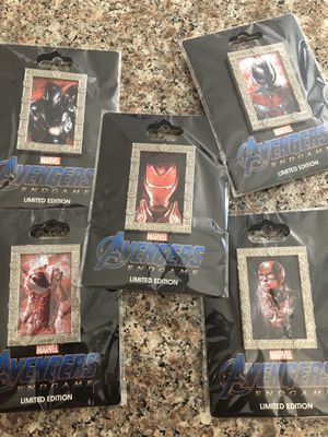 Avengers Endgame Pins for Sale in La Puente, CA