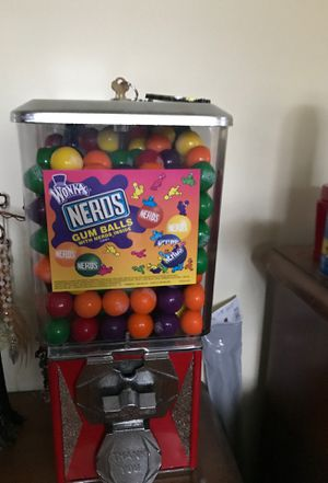 Nerds bubble gum machine for Sale in Browns Mills, NJ