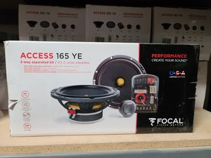 Focal Access 165 YE component car speakers for Sale in Lake Elsinore, CA