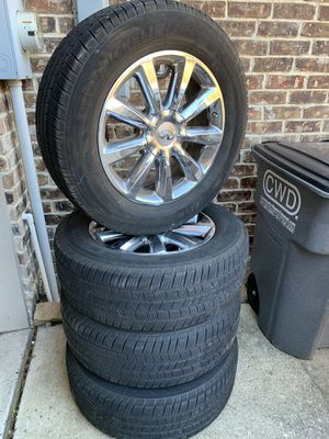Michelin 275/60R20 tires and wheels for Sale in Frisco, TX