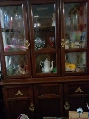 Large sofa ,kitchen lited hudge. , kitchen glass table 2 chairs for Sale in Queens, NY