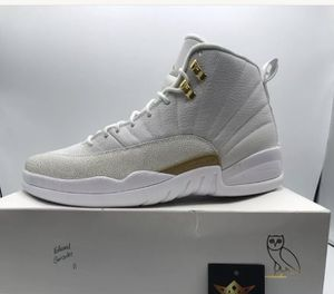 White Jordan 12 OvO used size 13 (( NO TRADES )) for Sale in St. Louis, MO