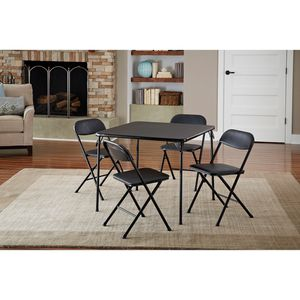 Cosco 5-piece folding table and chair set for Sale in Riverside, CA