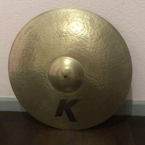 """Zildjian 20"""" K Custom Ride Cymbal for Sale in Seattle, WA"""