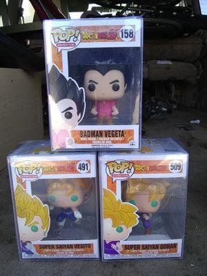 Dragon Ball Z funko pops for Sale in Montclair, CA