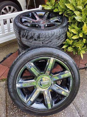 Cadillac Escalade wheels. for Sale in Conyers, GA