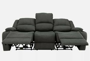 Triple seat electrical powered recliner for Sale in San Bruno, CA