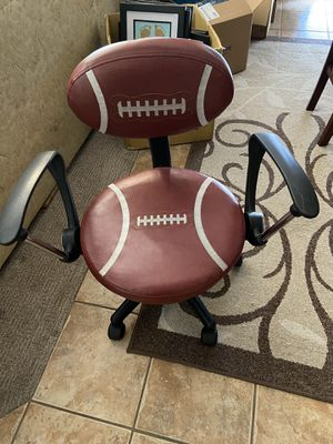 Kids football desk chair with arms for Sale in Gilbert, AZ