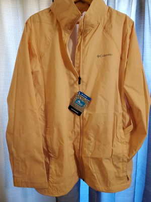 NEW-Plus Size Columbia Waterproof jacket for Sale in South Gate, CA