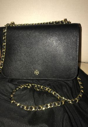 Tory burch hand bag with gold chain strap(BRAND NEW) for Sale in Missouri City, TX