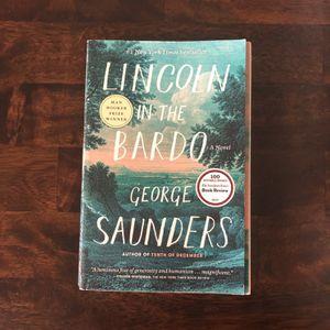 Lincoln In The Bardo- Softcover Book for Sale in Petaluma, CA