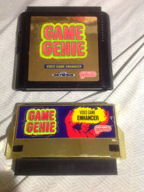 90's Game Genie's Nes & Genesis