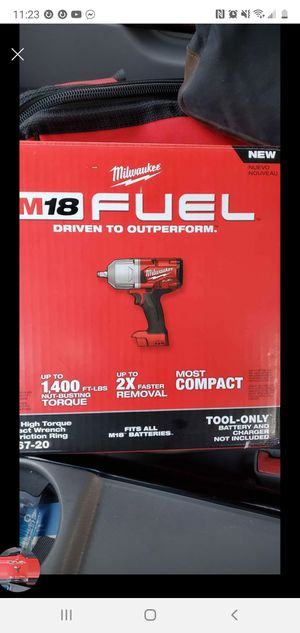 Milwaukee Fuel 1/2 Wrench High Impact 1400 Torque - TOOL ONLY NEW!! for Sale in Cicero, IL