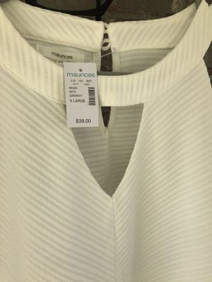 Maurices dress in white, size XL, nwt for Sale in La Vergne, TN