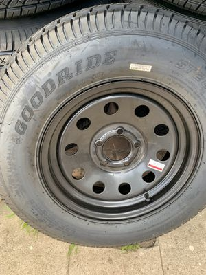 Black trailer tires for Sale in San Diego, CA