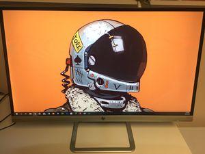 HP 27 inch PC monitor for Sale in Fairfax, VA