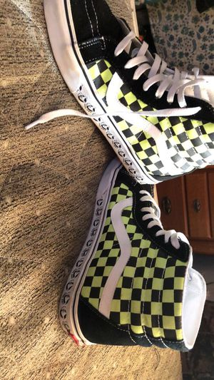 Green checkered vans for Sale in Bethel, PA