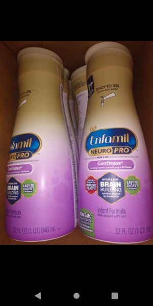 Enfamil gentleease/ready to use for Sale in Montebello, CA