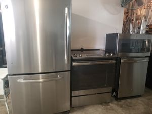 GE stainless steel appliances for Sale in Kissimmee, FL