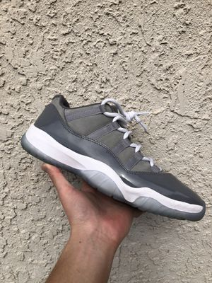 Jordan 11 Cool Grey lows for Sale in Elk Grove, CA