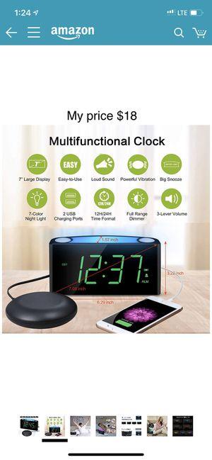 Clock/alarm/ $8 for Sale in Las Vegas, NV