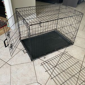 Large dog Metal wire kennel Wire crate for Sale in Orlando, FL