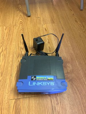Linksys Wireless G 2.4 ghz router for Sale in Queens, NY