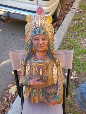 Cigar Store Indian Statue for Sale in Silver Spring, MD