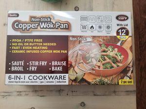 Copper Wok Pan for Sale in Cerritos, CA